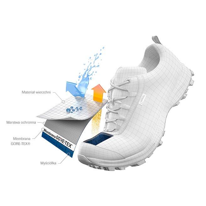Salomon Трекінгові черевики Salomon Outline Mid Gtx GORE-TEX 404844 21 V0 Black/Magnet/Green Milieu
