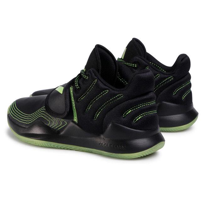 adidas Взуття adidas Deep Threat J FW8526 Cblack/Siggnr/Cblack