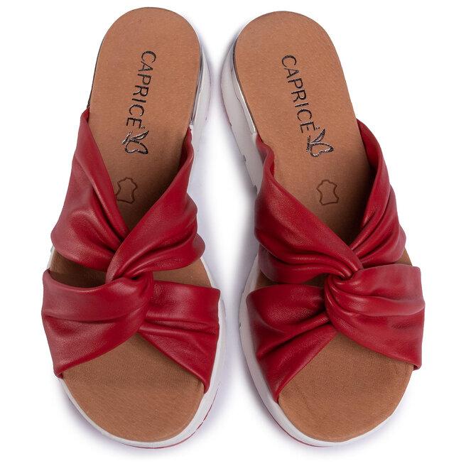 Caprice Шльопанці Caprice 9-27203-34 Red Softnappa 525