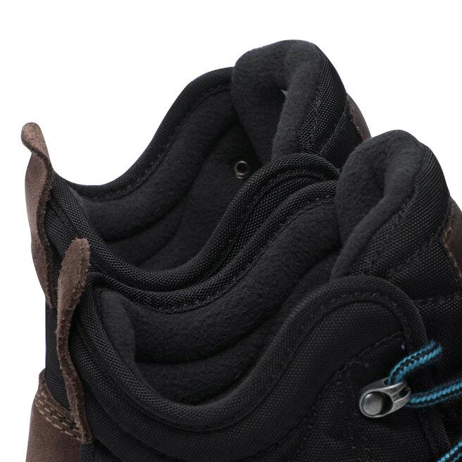 Columbia Трекінгові черевики Columbia Fairbanks Omni-Heat BM2806 Black/Cordovan 013