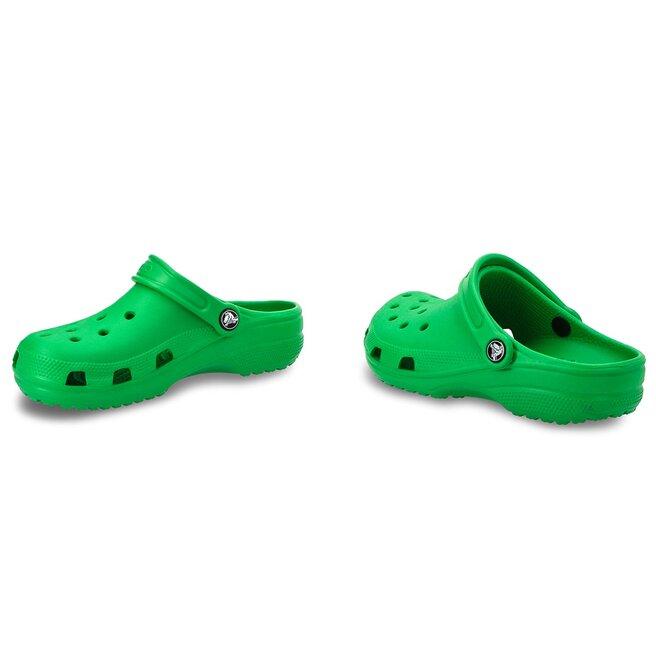 Crocs Шльопанці Crocs Classic Clog K 204536 Grass Green