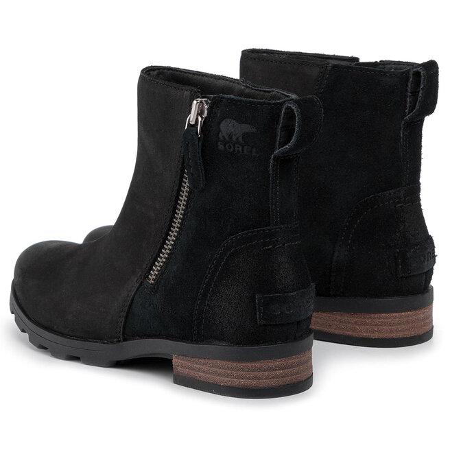 Sorel Ботильйони Sorel Emelie Zip Bootie NL3502 Black 010