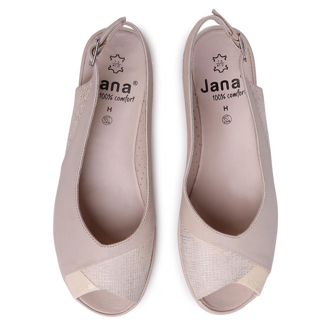 Jana Босоніжки Jana 8-29291-24 Offwhite Comb 190