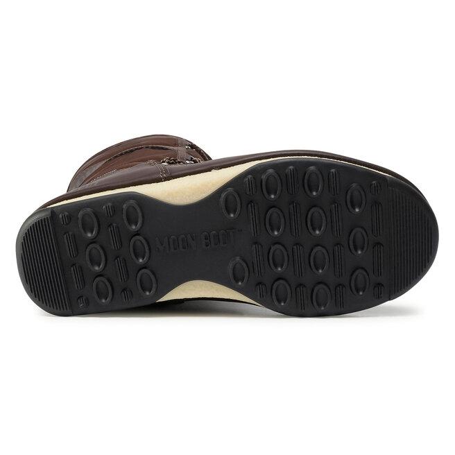 Moon Boot Снігоходи Moon Boot Monaco Wool Wp 24008900007 Dark Brown