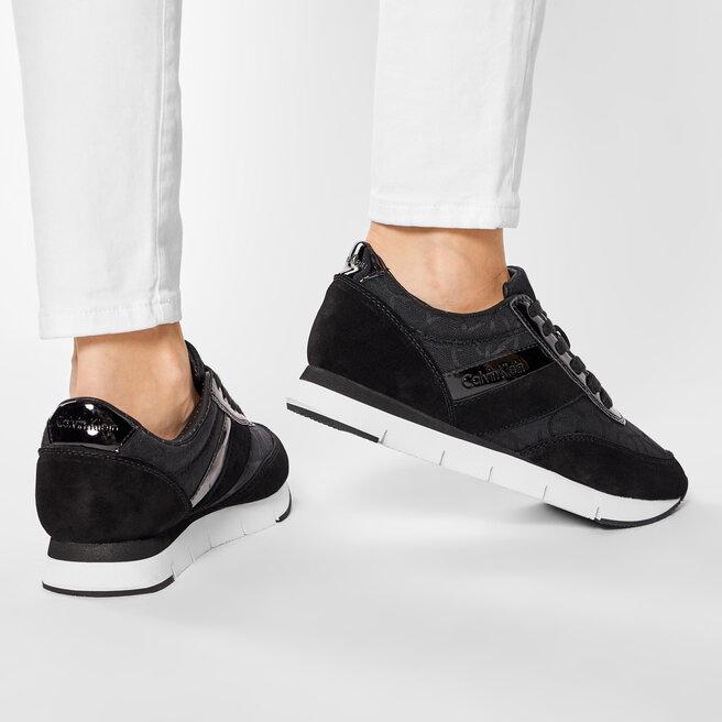 Calvin Klein Jeans Снікерcи Calvin Klein Jeans Tea RE9267 Black/Black