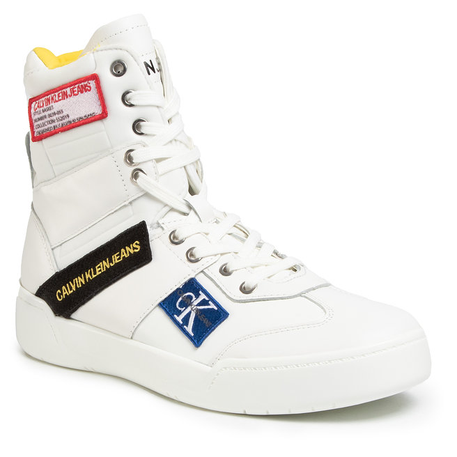 Calvin Klein Jeans Снікерcи Calvin Klein Jeans Norton Nappa Leather S0580 Bright White