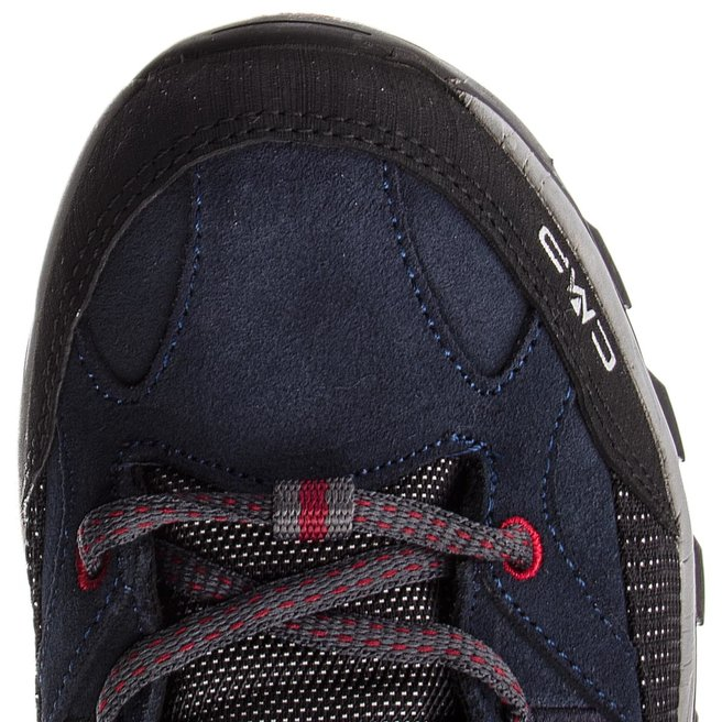 CMP Трекінгові черевики CMP Rigel Low Trekking Shoes Wp 3Q13247 Asphalt/Syrah 62BN