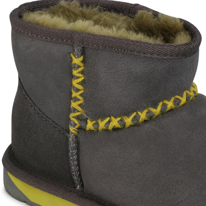 EMU Australia Взуття EMU Australia Stinger Micro Stitch W12305 Charcoal/Palmtree