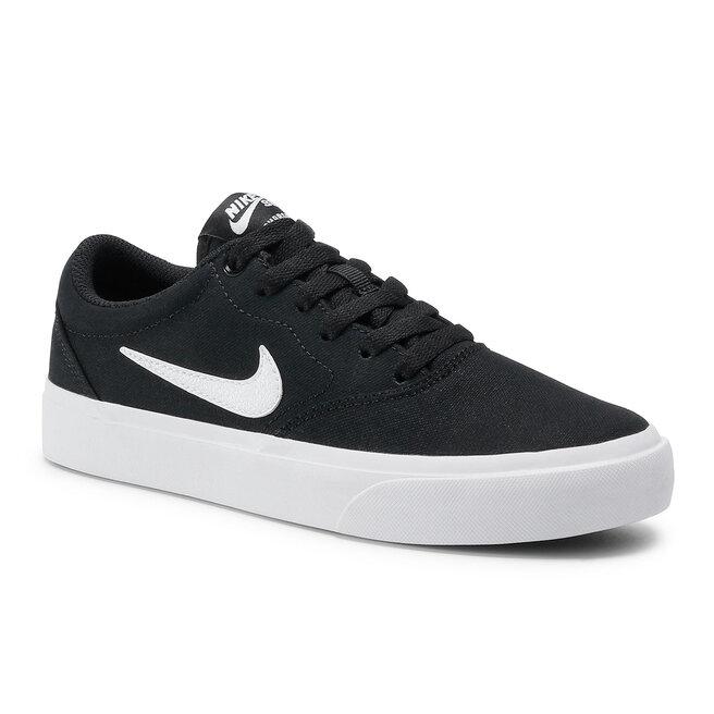 Nike Взуття Nike Sb Charge Cnvs (GS) CQ0260 004 Black/White/Black