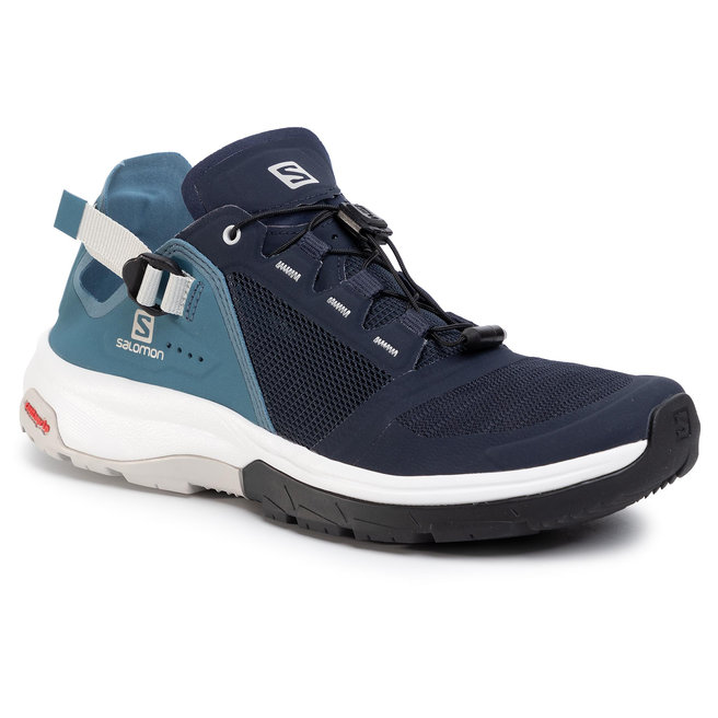 Salomon Трекінгові черевики Salomon Tech Amphib 4 409852 Navy Blazer/Bluestone/Lunar Rock